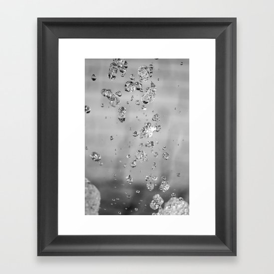 Speckles Framed Art Print