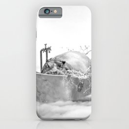 HIPO BATH iPhone Case