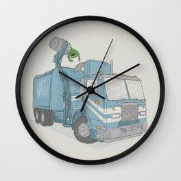Curbside Pickup Wall Clock