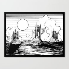 Three Castles Canvas Print
