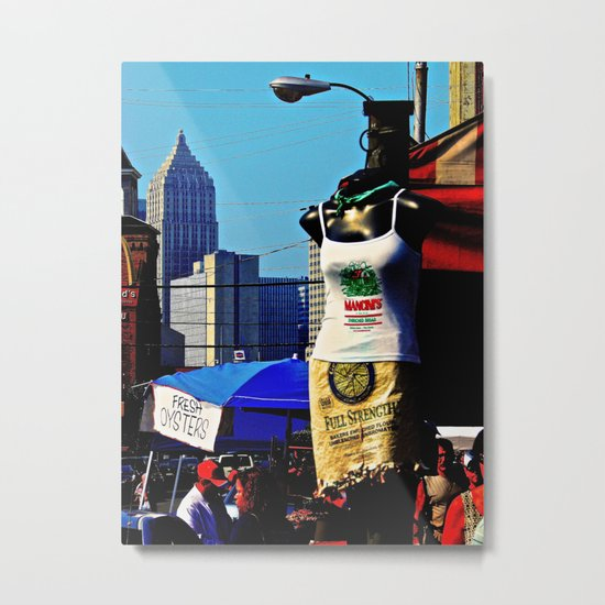 Strip District Model Metal Print