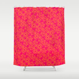 Mango y fresa Shower Curtain