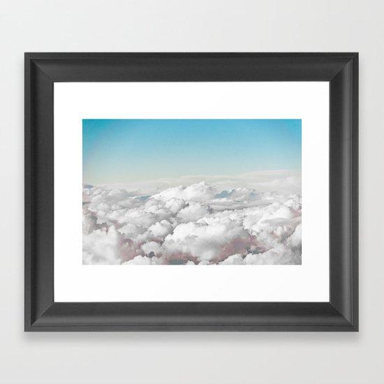 Cotton Sky Framed Art Print