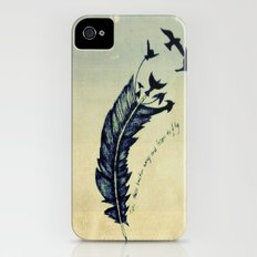 Feather iPhone (4, 4s) Slim Case