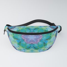 Mandalas of Healing and Awakening 10 Fanny Pack