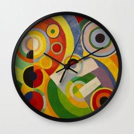 """Robert Delaunay """"Rythme, Joie de vivre"""" Wall Clock"""