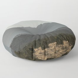 Rocky Mountain Haze Floor Pillow