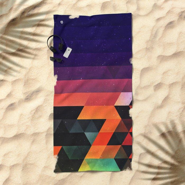 sww fyr Beach Towel