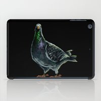 pigeon iPad Cases featuring Pigeon by Sarah Jane Rozman