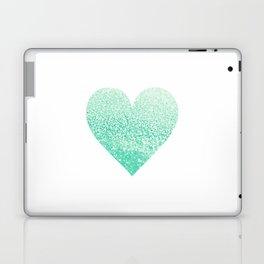 SEAFOAM HEART Laptop & iPad Skin
