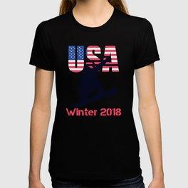 flag winter 2018 T-shirt