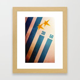Uruguay World Cup Framed Art Print
