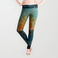 shapes Leggings featuring Elephant's Dream by Waelad Akadan