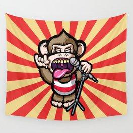 Ape Mic Wall Tapestry