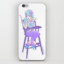 Man Eater iPhone Skin