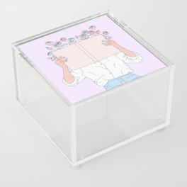 Read All About It Acrylic Box
