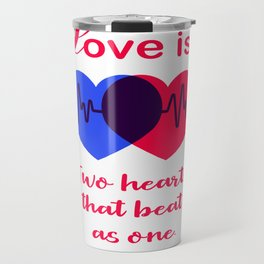 Love is Travel Mug