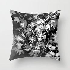 Electric Shadows Throw Pillow