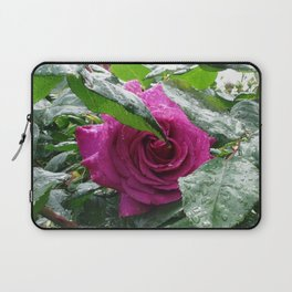 Rose After the Rain Laptop Sleeve