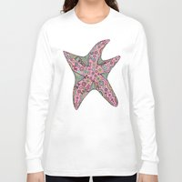 starfish Long Sleeve T-shirts featuring Starfish by Planet Hinterland by Carmen Hickson