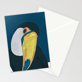 FEATHER FEST - TOUCAN Stationery Cards