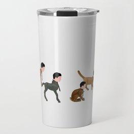 Little robots Travel Mug