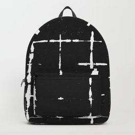 Black Ink Shibori Tie Dye Backpack
