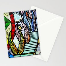 Wings & Stairs Stationery Cards