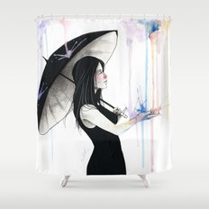 Pluviophile Shower Curtain