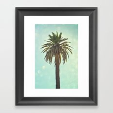 California Palm Framed Art Print