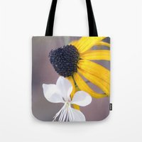 friendship Tote Bags featuring Friendship by Laura George