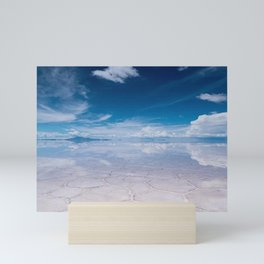 Salt Flats of Salar de Uyuni, Bolivia #1 Mini Art Print
