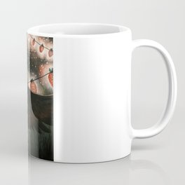 Strawberry Lanterns Coffee Mug