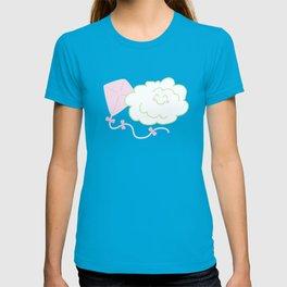 Floof Cloud and Kite T-shirt
