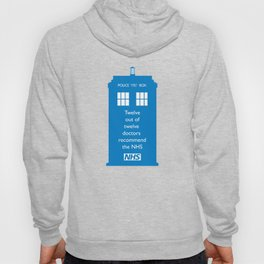 Hands of our NHS doctor Who style Hoody