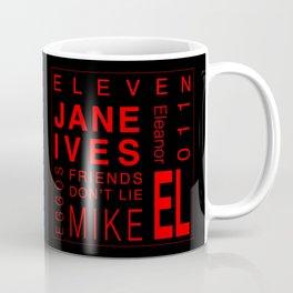Eleven:Stranger Things - tvshow Coffee Mug
