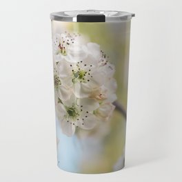 Pear Blossoms in spring. Travel Mug