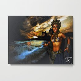Oueen of the Old Ones Metal Print
