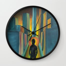 """""""The Diverge"""" Wall Clock"""