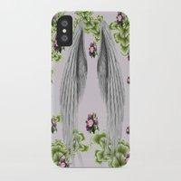 angel wings iPhone & iPod Cases featuring angel wings by karens designs
