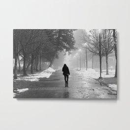 Alone Metal Print
