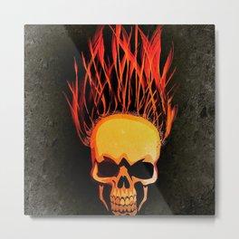 It's getting hot..!!! Metal Print