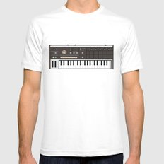 Korg Mens Fitted Tee MEDIUM White