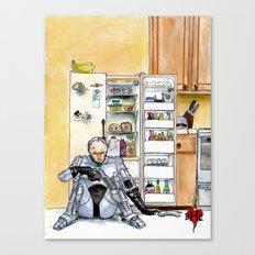 BHC - ROBOCOP Canvas Print