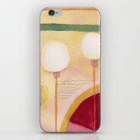 green lantern iPhone & iPod Skins featuring Green Lantern by Angella Meanix