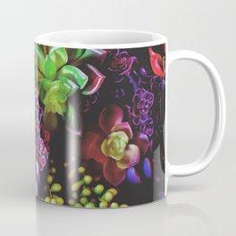 Colorful Succulent Plants Coffee Mug
