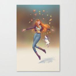 Fall Mood Canvas Print