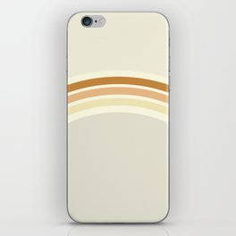 one day – earthen clay layers iPhone Skin
