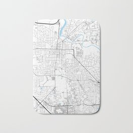 Ann Arbor, Michigan Bath Mat