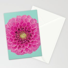 Dahlia (Part of a Triptych) Stationery Cards